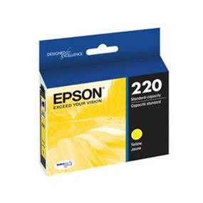Epson 220 Yellow Ink Cartridge (T220420-S)