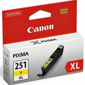 Canon CLI-251 XL Yellow Ink Cartridge (6451B001)