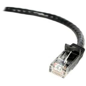 StarTech Snagless Cat6 UTP Patch Cable - ETL Verified (Black) - 3 ft. (N6PATCH3BK)
