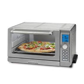 Cuisinart 0.6 cu.ft. Deluxe Convection Toaster Oven Broiler - Stainless Steel (TOB-135)
