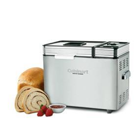 Cuisinart 1lb / 1.5 lb / 2 lb Convection Bread Maker w/ Special Recipe Programs  - Stainless Steel (CBK-200C)