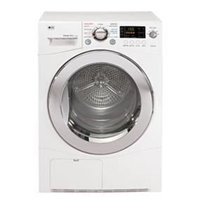 LG 4.2 cu.ft. 24 Inch Capacity Electric Dryer - White (DLEC855W)