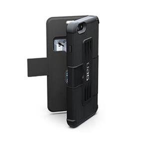 UAG iPhone 6 Plus (5.5'') Black/Black (Scout) Folio case (UAG-IPH6AIRF-BLK-)
