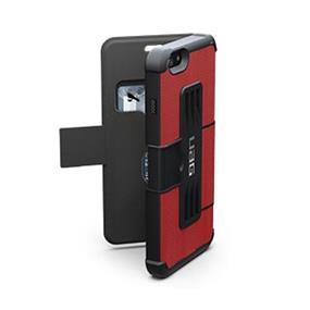 UAG iPhone 6 Plus (5.5'') Red/Black (Rogue) Folio case (UAG-IPH6AIRF-RED-)