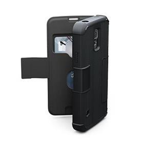 UAG Samsung Galaxy S5 Black/Black (Scout) Folio case (UAG-GLXS5F-BLK-W-)