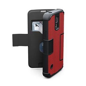 UAG Samsung Galaxy S5 Red/Black (Rogue) Folio case (UAG-GLXS5F-RED-W-)