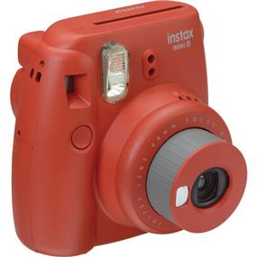 Fujifilm instax mini 8 - Instant Film Camera w/Film (Raspberry)