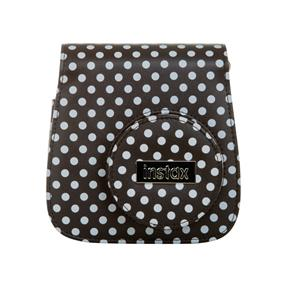 Fujifilm Instax Groovy Case - Instax Mini 8 Case (Black/White Polka Dot)