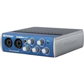 PreSonus AudioBox 22VSL - USB 2.0 Recording System ** Employee Promo Available Now In-Store. Please ask for more details. **