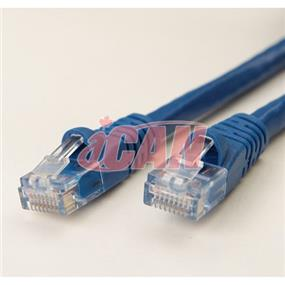 iCAN CAT6 RJ45 Patch Cable, Snagless - 50 ft.  (Dark Blue) (C6ENB-050BLU)