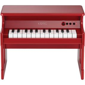 KORG tinyPIANO - Digital Toy Piano with Speakers (Red)