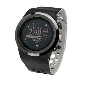 LifeTrak Brite R450 Automatic Life Tracker with Built-in ECG Heart Rate Monitor - Midnight Black / Titanium (LTK7R45005)