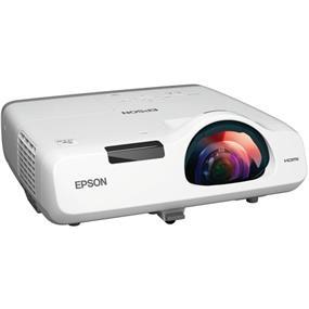 Epson PowerLite 520 XGA (1024 x 768), Short Throw, 2700 ANSI Lumens, 16000:1 Contrast Ratio 3LCD Projector V11H674020