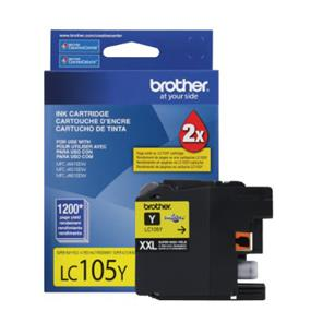 Brother Innobella LC105YS Ink Cartridge - Yellow - Inkjet - Super High Yield - 1200 Page