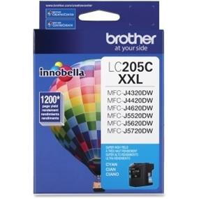 Brother Innobella LC205CS Ink Cartridge - Cyan - Inkjet - Super High Yield - 1200 Page