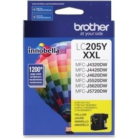 Brother Innobella LC205YS Ink Cartridge - Yellow - Inkjet - Super High Yield - 1200 Page