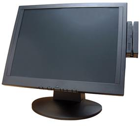 Bematech LE1000 LCD 15'' Touch Monitor (USB with Bracket, 3-Track MAG Reader)