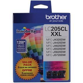 Brother Innobella LC2053PKS Tricolour Ink CartridgeSuper High Yield