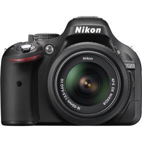 Nikon D5200 Digital SLR Camera with 18-55mm VR II Lens (Black)