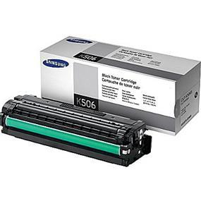 Samsung CLT-K506S/XAA Black Toner Cartridge - 1500 Page (CLT-K506S/XAA)