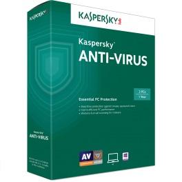 Kaspersky Antivirus 2015 (3 Users, Retail) En/Fr