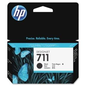 HP 711  Black Ink Cartridge - 1 Each (CZ129A)