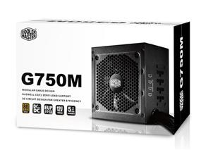 Cooler Master G750M 750W Semi-Modular 80 Plus Bronze Power Supply (RS750-AMAAB1-US)