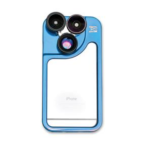 iZZi Gadgets Remix 5-in-1 Lens Case System for iPhone 6 (Blue)