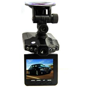 iCAN Car DVR, 2.5 inch TFT screen, 6IR Night vision, 270 degree rotation, Loop recording