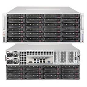 Supermicro SuperServer SSG-6048R-E1CR36N 4U E5-2600v3 C612 36x3.5inch SATA DDR4 PCI-Express 1280W Rackmount Retail