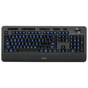 Azio Vision Backlit Wireless Keyboard (KB506W)
