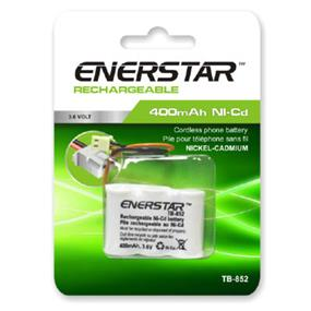 EnerStar Cordless Phone Battery Ni-Cd Battery 400 mAh, 3.6V for VTech, Sanyo, Uniden, Sylvania, Sony, GE, Panasonic phones