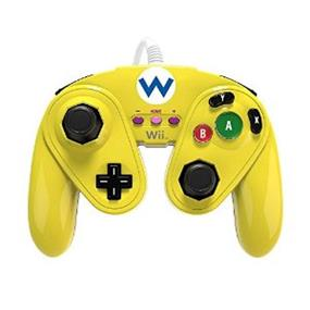 PDP Wii-U Fight Pad - Wario (085-006-WA)