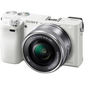 Sony Alpha A6000 - Mirrorless Digital Camera with 16-50mm Lens (White)