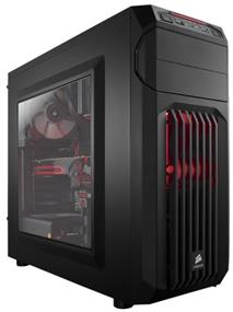 Corsair Carbide Series® SPEC-01 Red LED Window Mid-Tower Gaming Case (CC-9011050-WW)