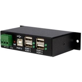 StarTech Mountable 4 Port Rugged Industrial USB Hub (ST4200USBM)