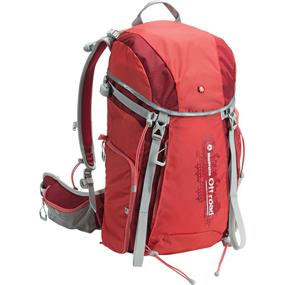 Manfrotto Off road Hiker Backpack (30L, Red)