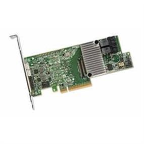 LSI Logic I/O Controller MegaRAID 9361-8i Single 8Port SATA/SAS PCI-Express 3 1GB DDR3 Brown Box (LSI00417)