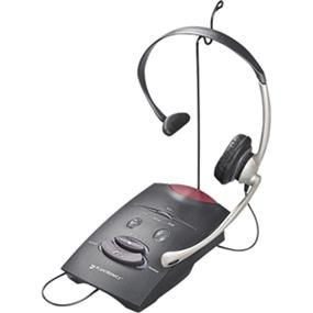 Plantronics S11 Amplifier with over-the-head NC headset Includes mute and volume control (65148-14)
