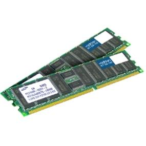 AddOn 4GB (2x2GB) DDR2 400MHz PC2-3200 - 240Pin DIMM Memory - REG, ECC, Dual Rank (AM400D2R3/4GKIT)