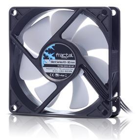 Fractal Design Silent Series R3 80MM Cooling Fan (FD-FAN-SSR3-80-WT)