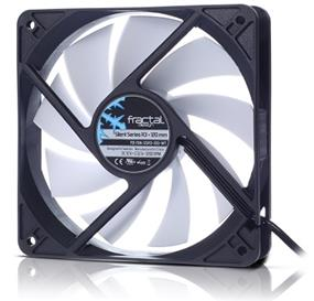 Fractal Design Silent Series R3 120MM Cooling Fan (FD-FAN-SSR3-120-WT)