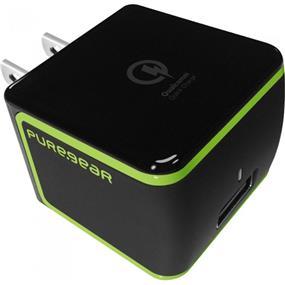 PureGear Qualcomm Quick USB Travel Charger 2.0 Black (60587PG)