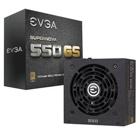 EVGA SuperNOVA 550 GS 550W 80Plus Gold Certified Fully Modular Power Supply Intel 4th Gen CPU Ready 5 Year Warranty (220-GS-0550-V1)