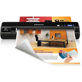 Epson WorkForce DS-40 Color Wireless Portable Scanner