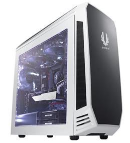 BitFenix Aegis White Window Micro ATX Mini Tower Case with ICON Display (BFC-AEG-300-WKWL1-RP)