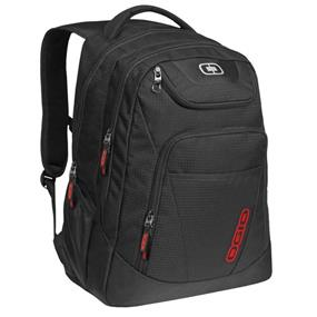 "Ogio Tribune 17"" Backpack Black w/Red (111078.03)"