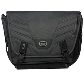"Ogio Renegade Messenger 13"" Black Pindot, Black Pinstripe, International Carry-On (117049.317)"