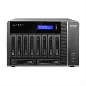 QNAP 10 Bay TVS-EC1080-E3-16G NAS Xeon E3-1245v3 3.4G 16GB DDR3 RAM