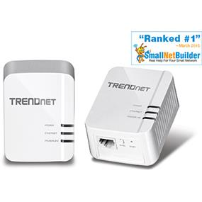 TRENDnet TPL-420E2K Powerline Gigabit AV2 Adapter Kit